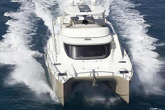 Catamaran boat rental in Miami Beach Marina, FL