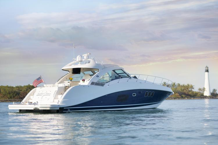 Charter 60ft Sea Ray Sundancer- Pristine shape!
