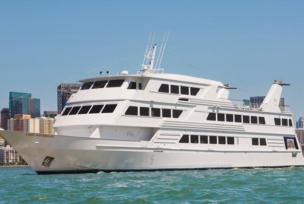 Celebrate any special occasion aboard this luxury party yacht
