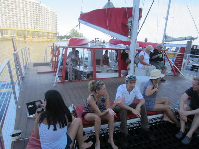This 50.0' Kurt Hughes cand take up to 42 passengers around Miami