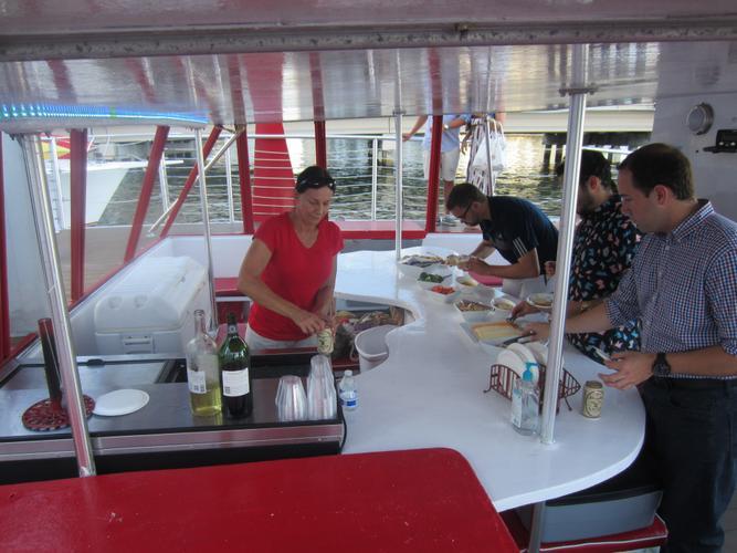Discover Miami surroundings on this 50 Kurt Hughes boat
