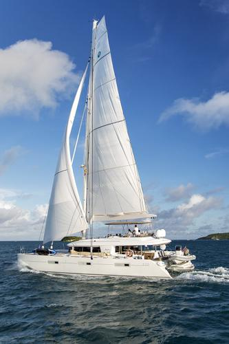 Catamaran boat rental in Soper's Hole Marina,