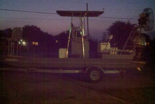 Custom Flats Boat for Serious Flounder Fishing