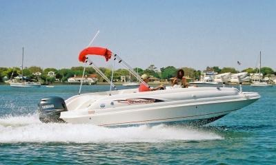 Charter this 21' Deck Boat Around St. Augustine!