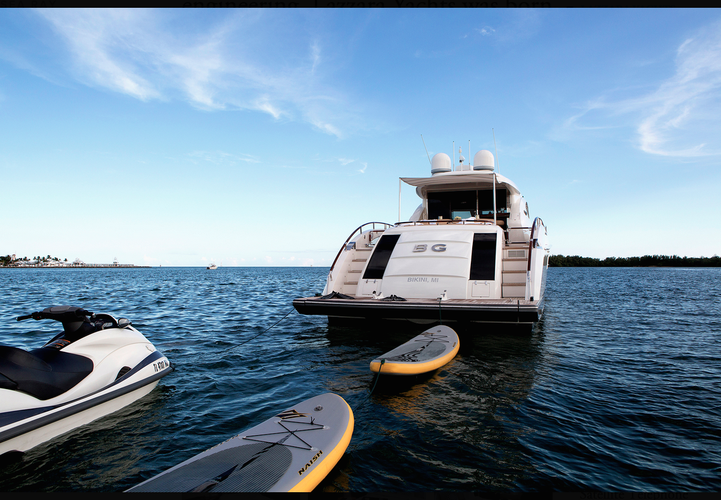 Boat for rent Lazzara 75.0 feet in Miami Beach Marina - Pier D, FL
