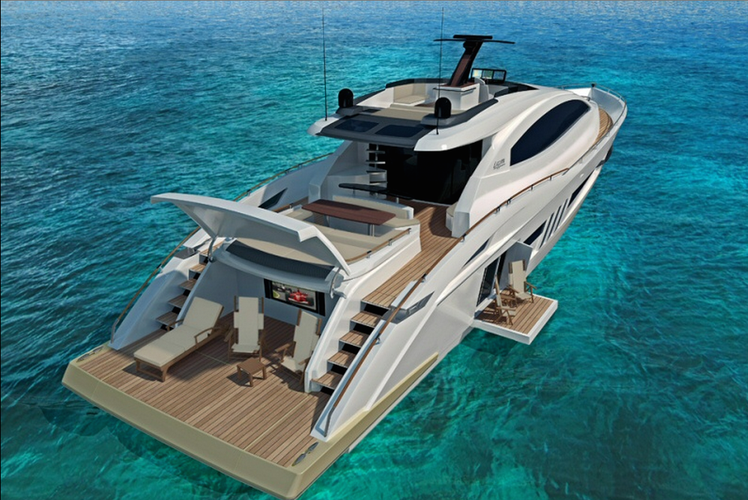 Miami Sport Yacht Rental - Sleek, Modern and Gorgeous!