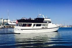 Up to 56 persons can enjoy a ride on this Mega yacht boat
