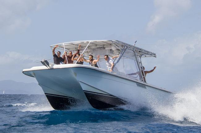 Explore the BVI's on this 36' Catamaran