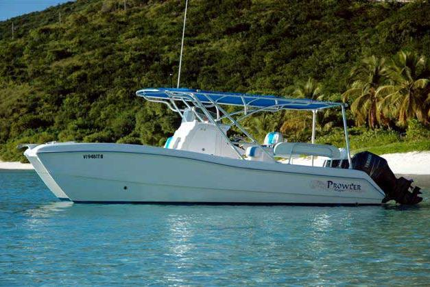 Play  in the Virgin Islands aboard the Power Cat!