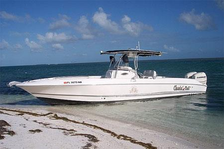 Center console boat for rent in Marathon