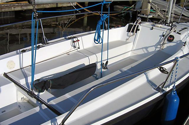 Discover Kemah surroundings on this 26 Colgate boat