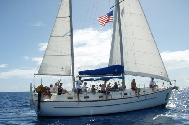 Morgan's 46.0 feet in Charlotte Amalie