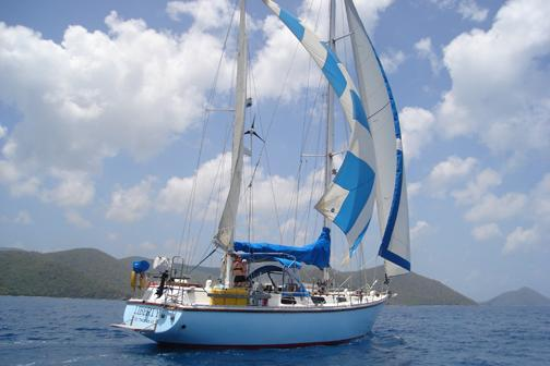 Enjoy the Virgin Islands on this beautiful Sailboat