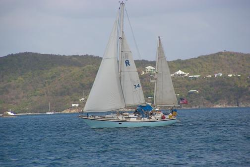 Classic boat for rent in St. Thomas