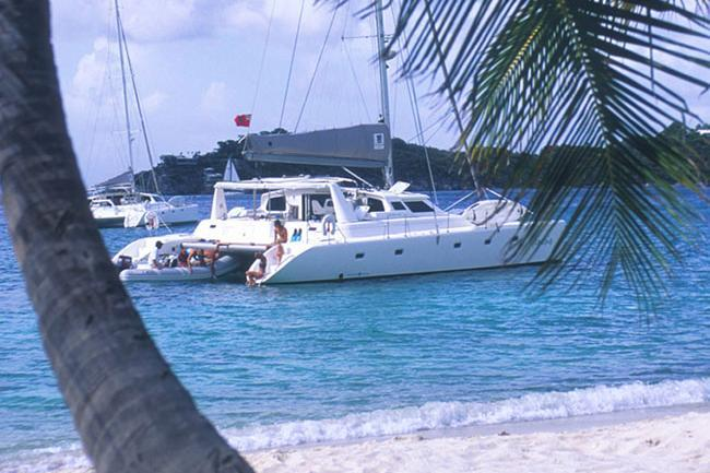 Relax on board this beautiful Sailing Catamaran!