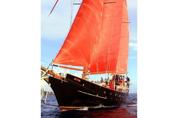 Charter this Beautiful Classic Sailboat in the USVI's