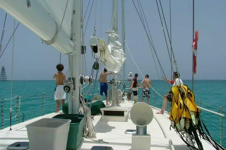 Schooner boat for rent in Key West