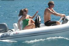 Charter this Avon Rigid Inflatable for a Fun Day on the Water
