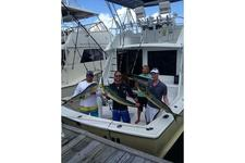 Fish and Discover the  Virgin Islands on this 45' Hatteras!