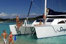 This 55' Cat is the Ultimate Virgin Islands Daysail!
