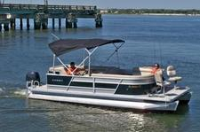 Bring your Friends Fishing & Cruising on this Pontoon Boat
