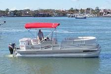 Charter this 24' Pontoon Boat Around St. Augustine!
