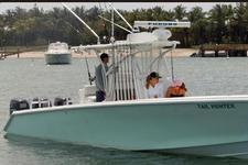 This 35' Hunter Provides Access to all Palm Beach Fishing