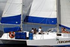 Explore the USVIs in This 50' Newick Trimaran!