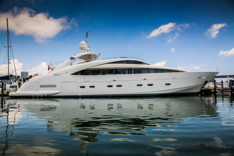 Featured boat for rent picture:  120 feet in Miami on sailo.com