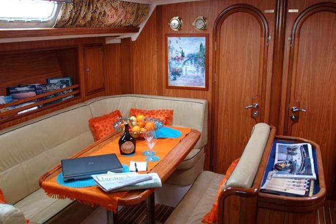 Sloop boat for rent in Myrina