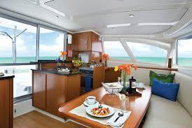 Discover Miami surroundings on this Leopard 384 Robertson and Caine boat