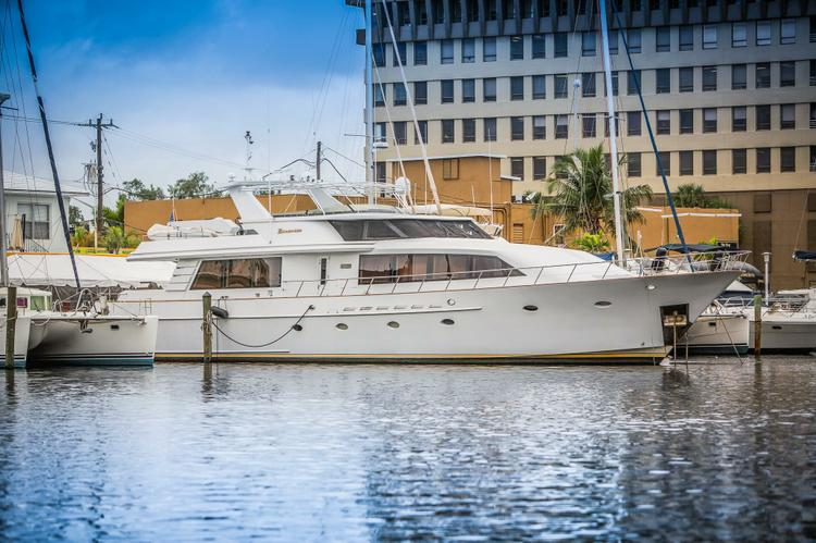 Explore Ft. Lauderdale on a Boat Fit for Nobility!