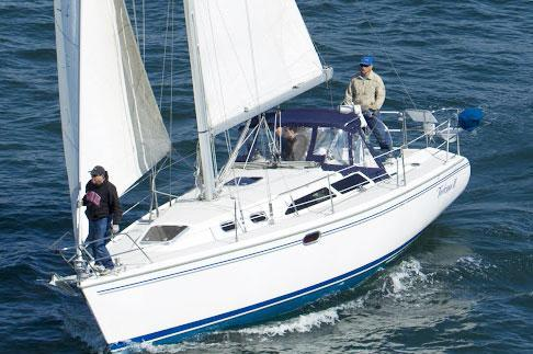 Sailing in Elegance out of Long Beach, California!