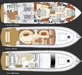 thumbnail-5 Gult Craft 66.0 feet, boat for rent in Miami Beach, FL