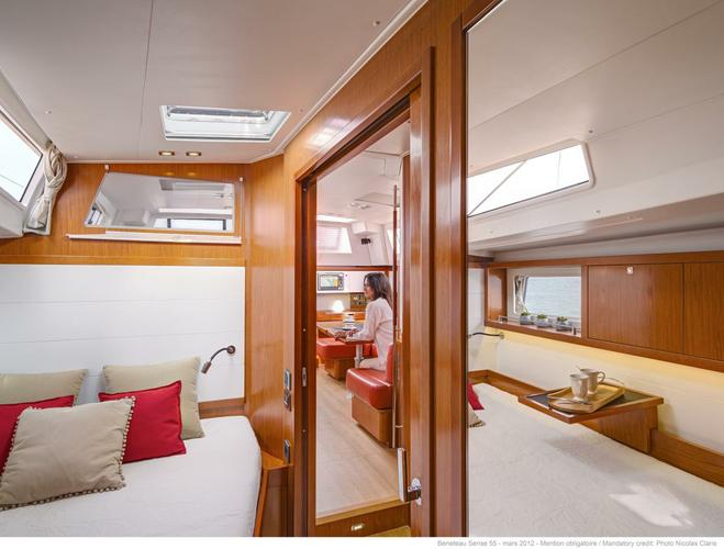 This 55.0' Beneteau cand take up to 6 passengers around Key West