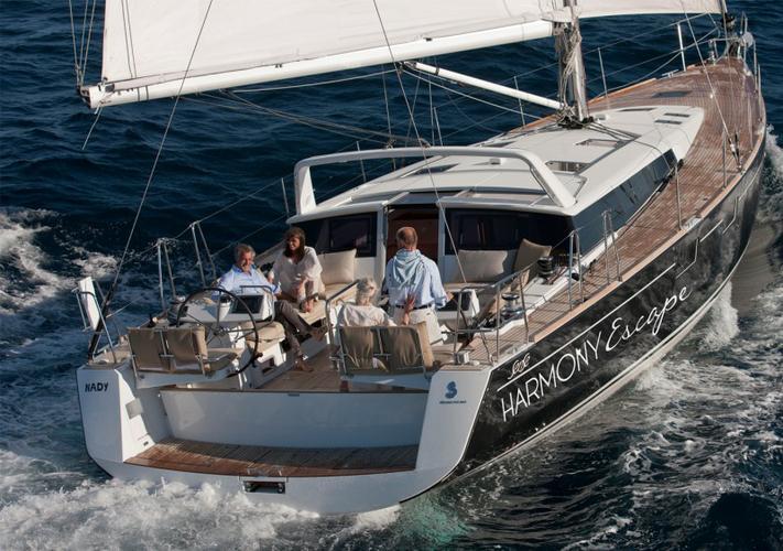 55.0 feet Beneteau in great shape