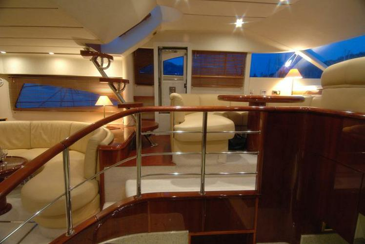 Discover Dubrovnik surroundings on this Squadron 55 Fairline boat