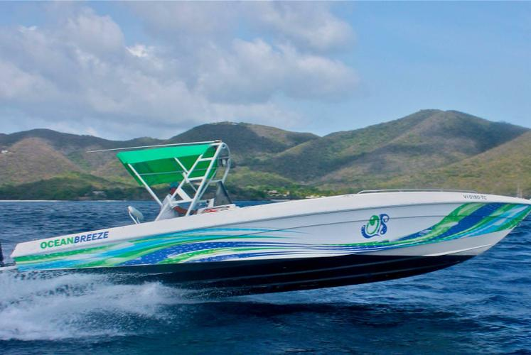 Cruiser boat for rent in St. John