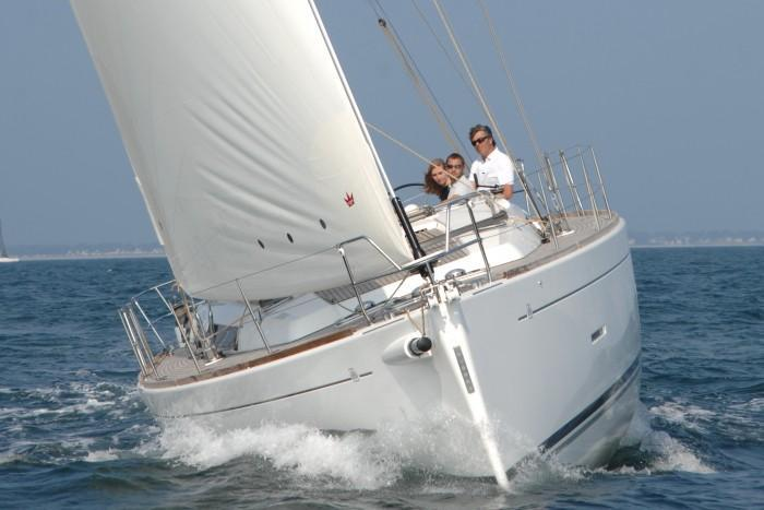 Discover Horta surroundings on this Dufour 450 Grand`Large Dufour boat