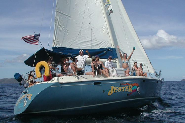 Sloop boat for rent in Charlotte Amalie