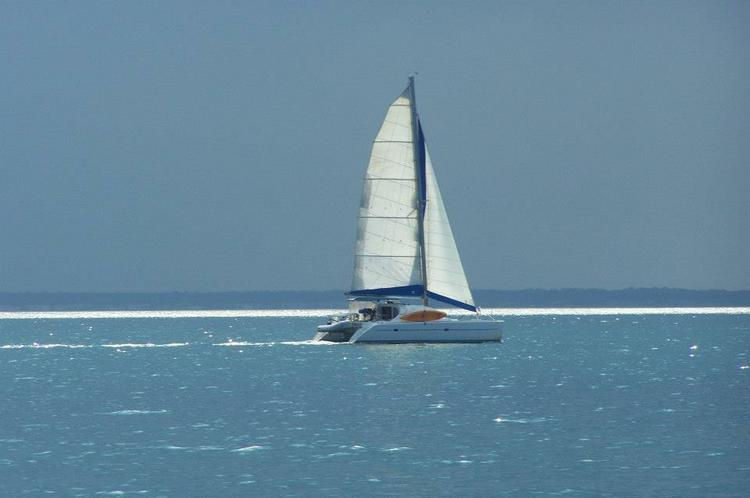 Catamaran boat rental in Charlotte Amalie,