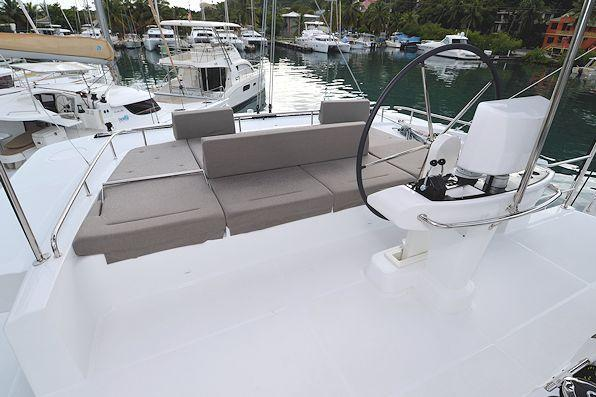Discover Road Town surroundings on this 52 Lagoon boat