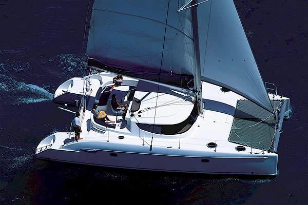 This catamaran is perfect for a day or week long trip!