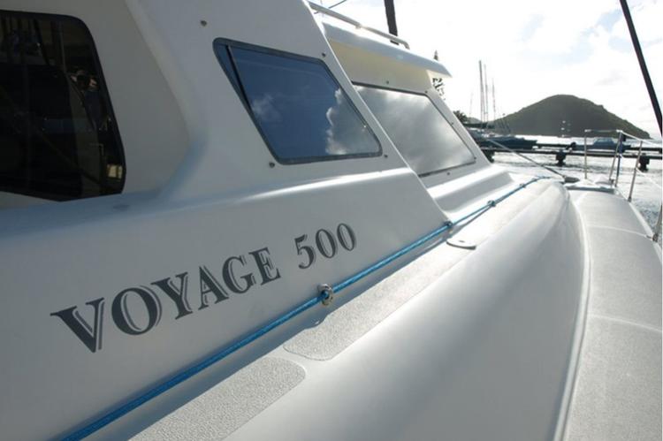 Voyage's 50.0 feet in Tortola