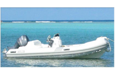 This Rigid Inflatable is Pefect for your Virgin Island Vacation