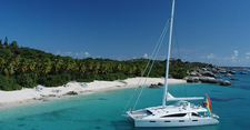 Sail through the Carribbean on this decadent sailboat!