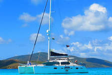 Privileged to be Sailing Across the Caribbean on this Catamaran