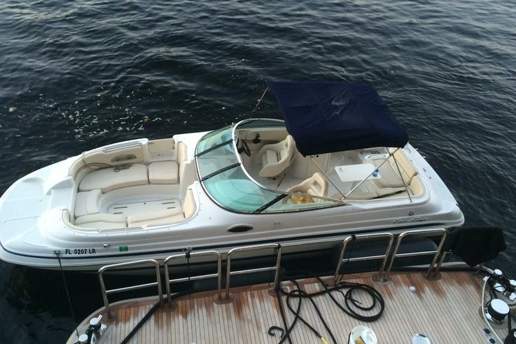 Super deck boat for a great day on the water!