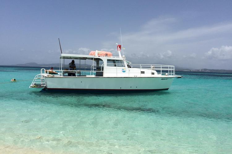 Dive boat boat rental in Cangrejos Yacht Club Marina, Puerto Rico