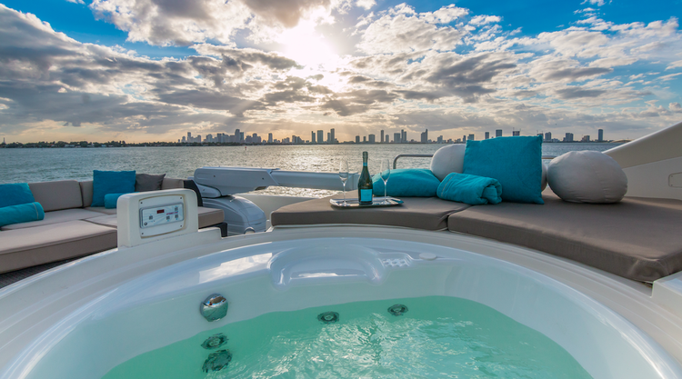 Boat for rent Ferretti 88.0 feet in Miami Beach Marina, FL